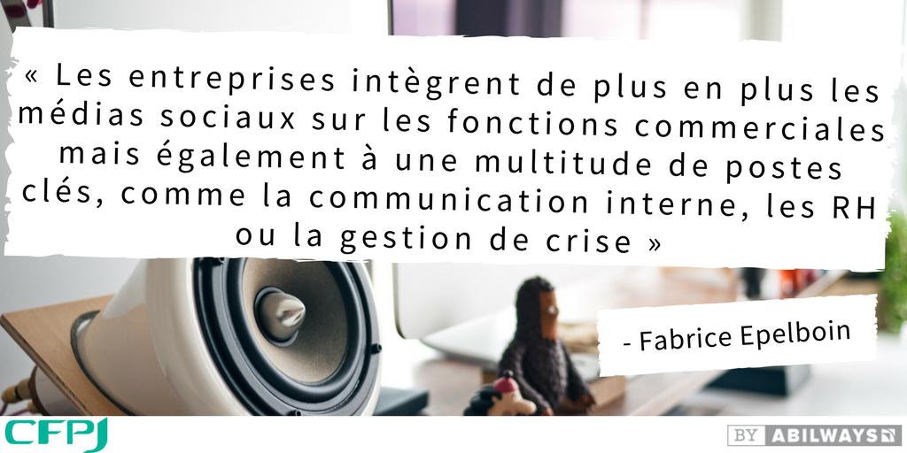 Fabrice Epelboin à propos des réseaux sociaux
