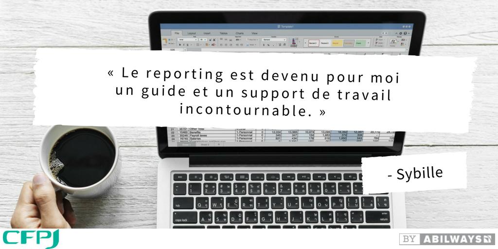 reporting réseaux sociaux